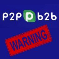 Биржа P2PB2B – криптовалютный развод пользователей